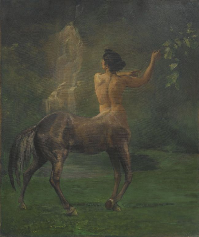 Brooklyn_Museum_-_Centauress_-_John_La_Farge_-_overall
