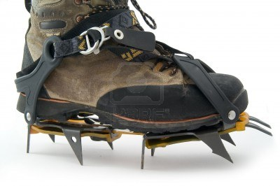 Image result for boots with crampons