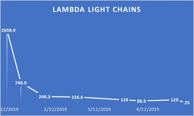 Lambda Light Chain Graph