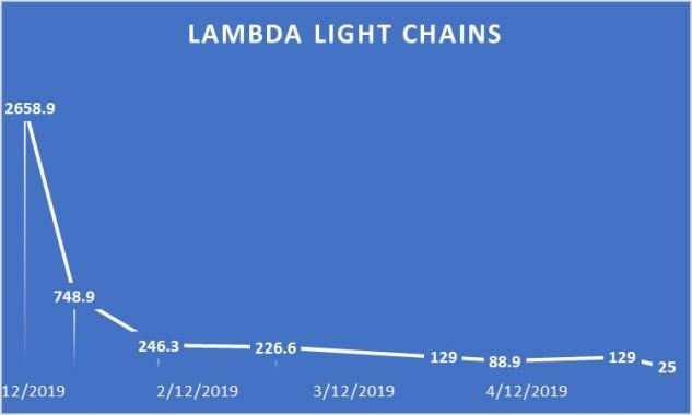 Lambda Light Chain Graph