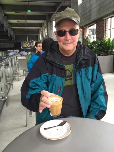 Mike drinking capiccio