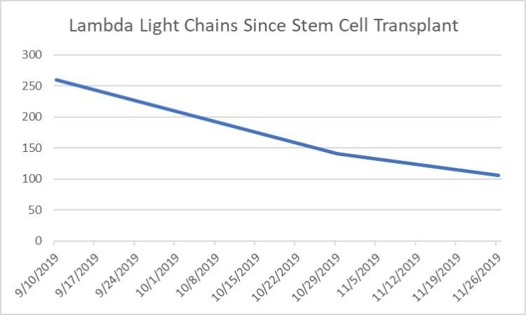 Lambda Light Chain Since Stem Cell Transplant