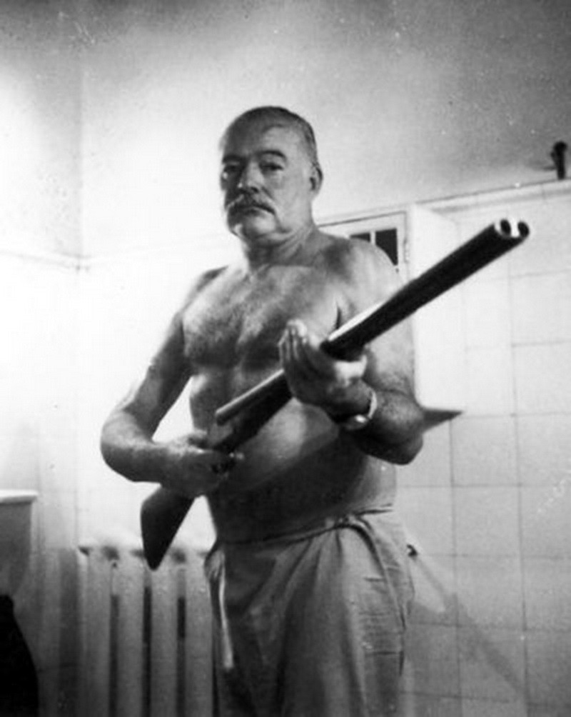 The Death of Ernest Hemingway. When Ernest Hemingway awoke early on… | by  Steve Newman Writer | Medium